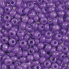 Rocailles purple opaque, 2.6 mm, 17g