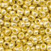 Rocailles old gold metallic, 3.5 mm, 17g