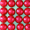 wax beads red, 4 mm, 125 pcs
