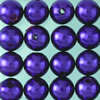 wax beads purple, 4 mm, 125 pcs