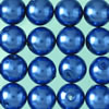 wax beads blue, 4 mm, 300 pcs