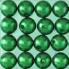 wax beads green, 4 mm, 125 pcs