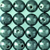 wax beads anthracite, 4 mm, 125 pcs