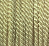 Viscose cord creme, 4mm, 25m roll