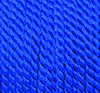 viscose cord royal blue, 4mm, 25m roll