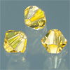 CRYSTALLIZED™ Bicone LIGHT TOPAZ 4mm, 25 Stück