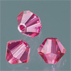 CRYSTALLIZED™ Bicone FUCHSIA 4mm, 25 pcs.