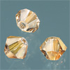 CRYSTALLIZED™ Bicone LIGHT COLORADO TOPAZ 4mm, 25 Stk.