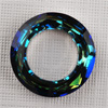 CRYSTALLIZED™ - 4139 Cosmic Ring 14mm Crystal Bermuda Blue