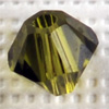 CRYSTALLIZED™ 5328 Xilion OLIVINE (228) 6mm, 10 pcs