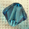 CRYSTALLIZED™ 5328 Xilion INDICOLITE (379) 6mm, 10 pcs