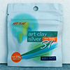 Art Clay Silver 800ST Slow Tarnish Modelliermasse, 10g