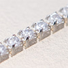 Swarovski JEWELCHAIN Silver 925, CZ white 1,5mm, 5cm