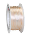 satin cord light creme, 2mm - Plus, 50m roll