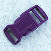 click buckle violet, 20mm, 1 pc.