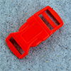 click buckle red, 20mm, 1 pc.