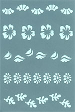 Art Clay Overlay  - stencil 429