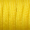 Paracord 550 yellow, 2x4mm, 4m