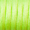 Paracord 550 neon green, 2x4mm, 4m