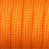 Paracord 550 orange, 2x4mm, 4m