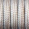 Paracord 550 silver grey, 2x4mm, 4m