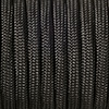 Paracord black, 2mm, 50m