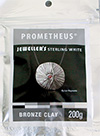 Prometheus™ JEWELLER`S Sterling White Bronze Clay Modelliermasse 200g