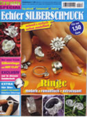 Echter Silberschmuck (rings made of Artclay®)