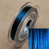 Stainless steel wire, 0.38mm, 10 m, middle blue