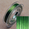 Stainless steel wire, 0.38mm, 10 m, light green