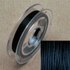 Stainless steel wire, 0.38mm, 10 m, black