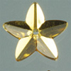 Ka-Jinker™ Faceted stern, gold, 20 pcs