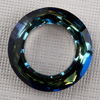 CRYSTALLIZED™- 4139 Cosmic Ring 20mm Crystal Bermuda Blue, 1