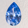 Swarovski Zirconia fancy blue TCF™ Pear Diamond 6x4mm, 1 Stk.