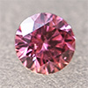 Swarovski Zirconia fancy pink TCF™ round 2mm, 1 pc.