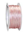 satin cord rose, 2mm - Plus, 50m roll