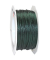 satin cord dark green, 2mm - Plus, 50m roll