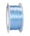 satin cord light blue, 2mm - Plus, 50m roll