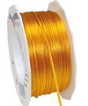 satin cord sunny yellow, 2mm - Plus, 50m roll
