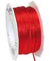 satin cord red, 2mm - Plus, 50m roll