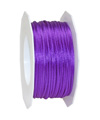 satin cord lilac, 2mm - Plus, 50m roll