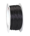 satin cord black, 2mm - Plus, 50m roll