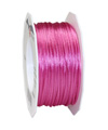 satin cord pink, 2mm - Plus, 50m roll