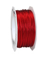 satin cord wine red, 2mm - Plus, 50m roll
