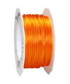 satin cord light orange, 2mm - Plus, 50m roll