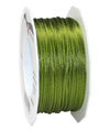 satin cord green, 2mm - Plus, 50m roll