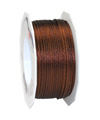 satin cord dark brown, 2mm - Plus, 50m roll