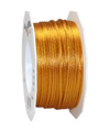satin cord golden 2mm - Plus, 50m roll
