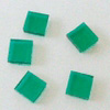 Fusing Glas blue green, 5 pcs