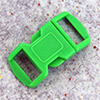 click buckle green, 30 x 15 mm, 1 pc.